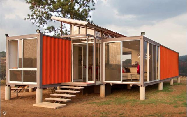 Containers of Hope - Benjamin Garcia Saxe Architecture.